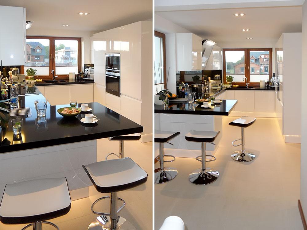 KUCHNIE NOWOCZESNE  Medom  Kuchnie i Wnętrza -> Kuchnie Nowoczesne Home